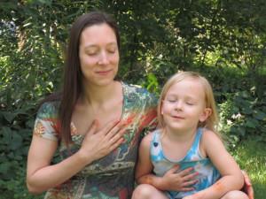 Sharing meditation...